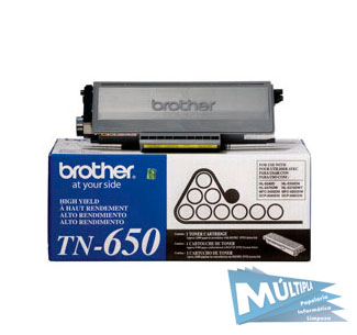 TONER TN 650 8.000 PAG BROTHER