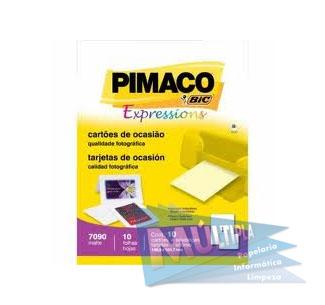 ETIQUETA INKJET E LASER A4248 17,0X31,0MM BRANCA CX 2400UN PIMACO