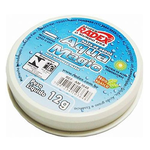 MOLHA DEDO GLICERINA 12G AQUA MAGIC RADEX