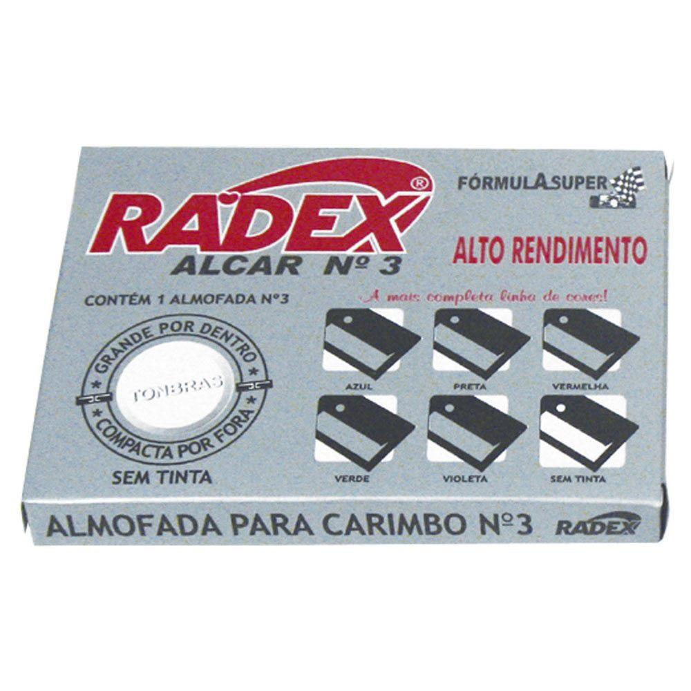 ALMOFADA Nº 3 S/ TINTA RADEX