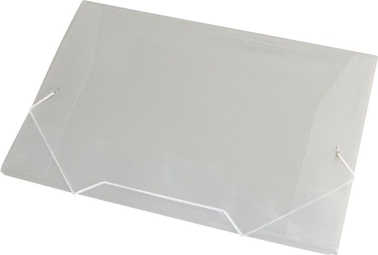 PASTA ABA/ELASTICO PLASTICA OF CRISTAL