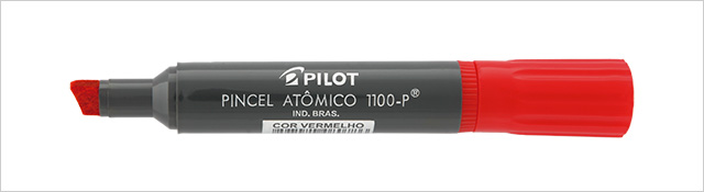 PINCEL ATOMICO VERMELHO 1100 P PILOT