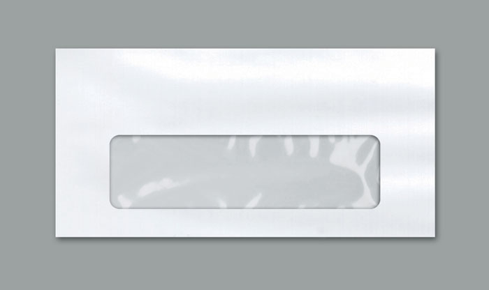 ENVELOPE OFICIO OFF SET BRANCO 75G 114X229MM JANELA CENTRAL 10UN SCRITY