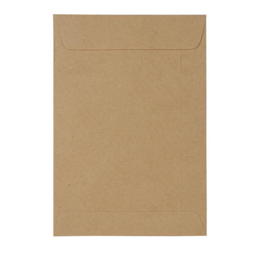 ENVELOPE SACO KRAFT NATURAL 80G 176X250MM 10UN SKN025 SCRITY