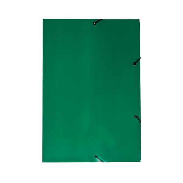 PASTA ABA/ELASTICO PLASTIFICADA DUPLEX VERDE JUSSARA