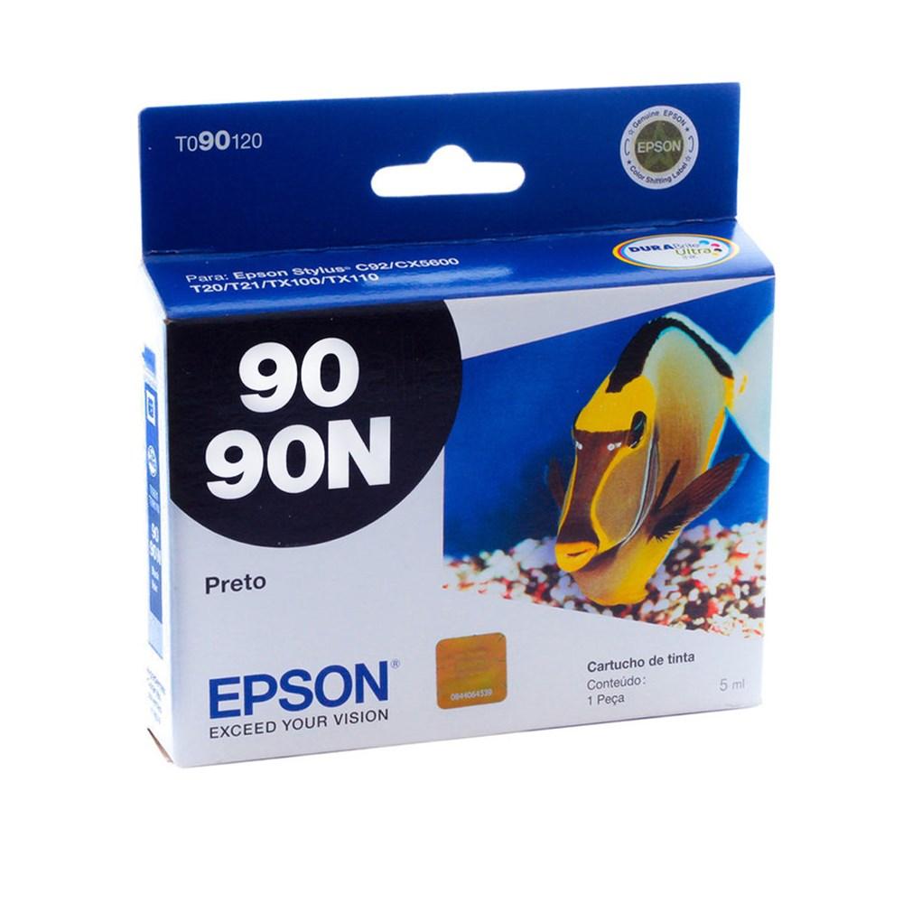 CARTUCHO TINTA TO90120 PRETO 5ML EPSON