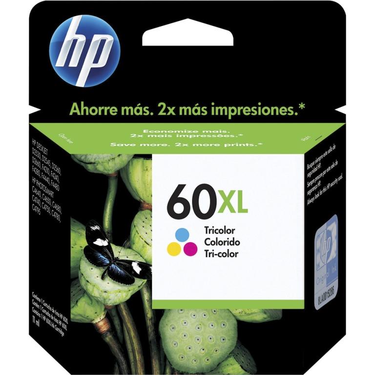 CARTUCHO TINTA CC644WB COLOR 60XL HP