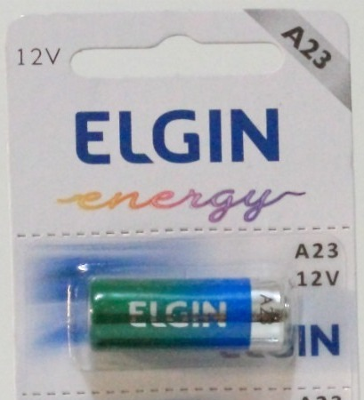 PILHA ALCALINA MN21/A23 12V ELGIN