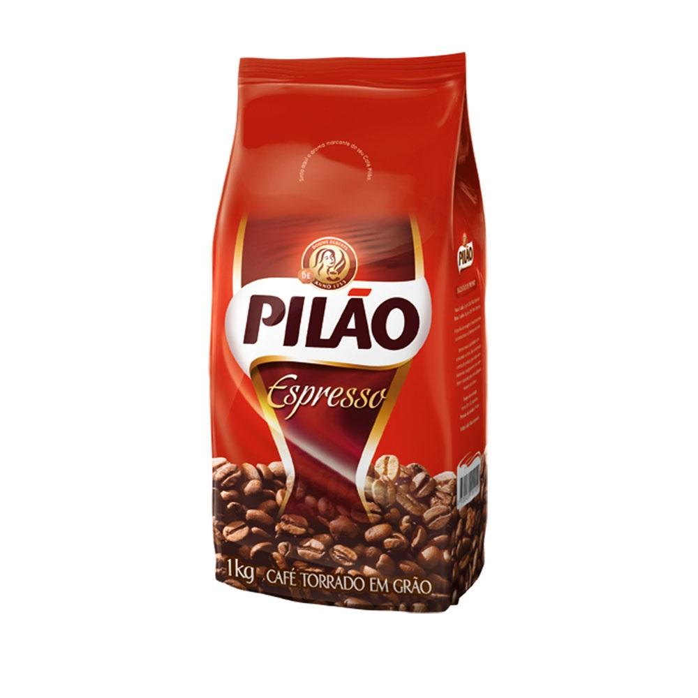 CAFE EM GRAOS 1KG PILAO