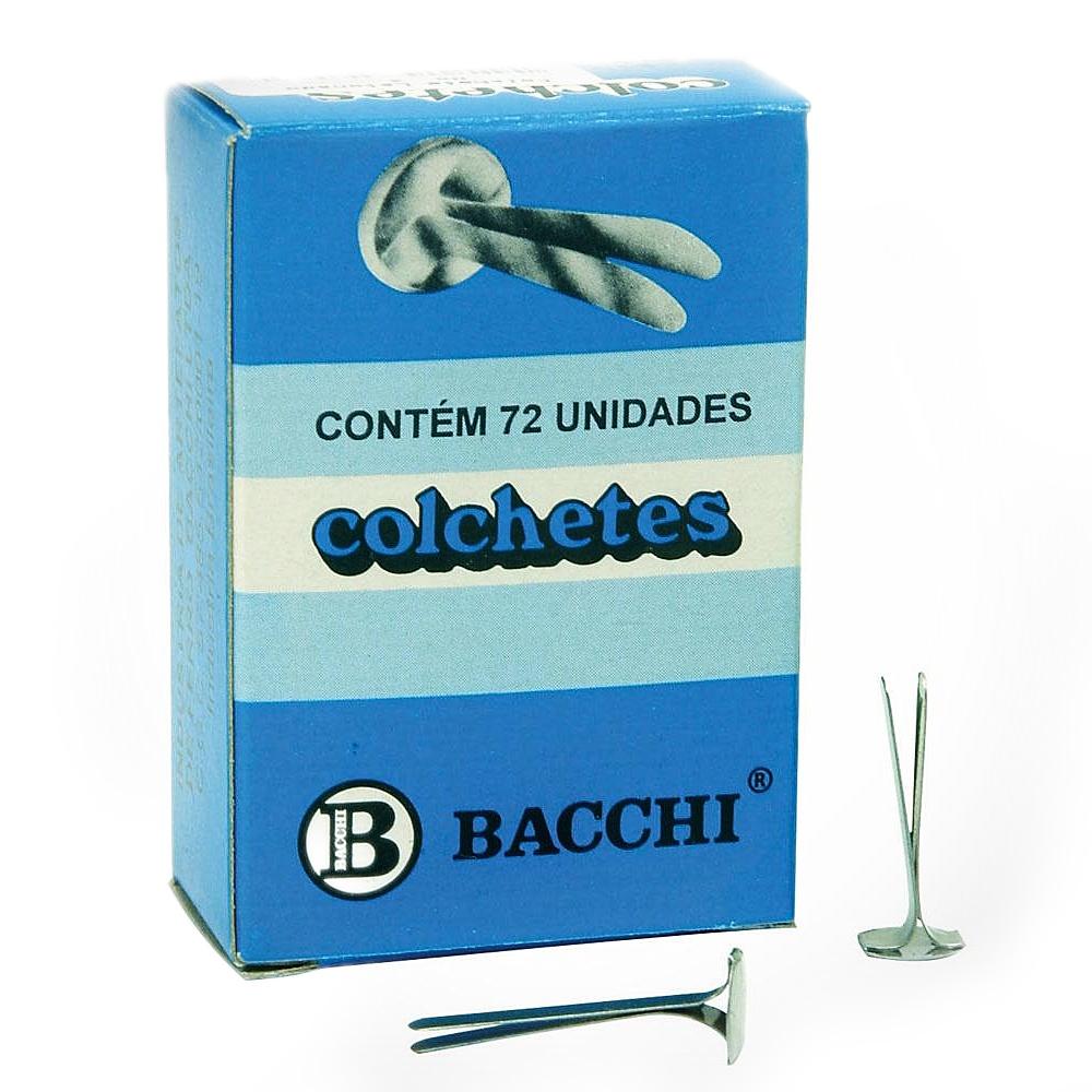 COLCHETE LATONADO Nº 12 72UN BACCHI