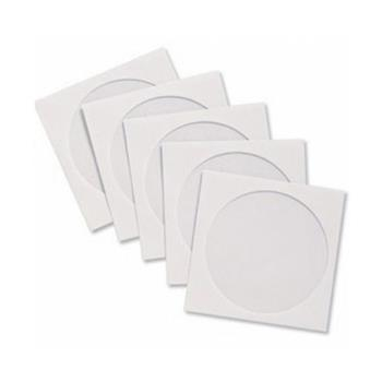 ENVELOPE CD/DVD OFF SET BRANCO 125X125MM JANELA CENTRAL 50UN SCRITY