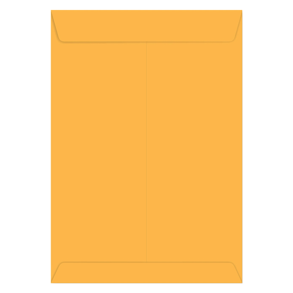 ENVELOPE SACO KRAFT OURO 80G 125X176MM 10UN SKO018 SCRITY