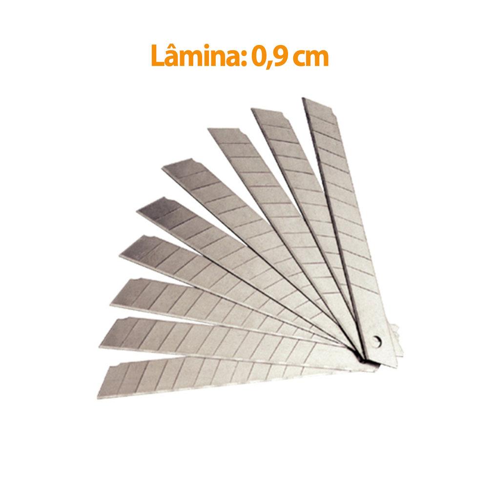 LAMINA ESTREITA 9MM 10UN G300 GOLLER
