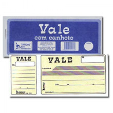 VALE SIMPLES C/ CANHOTO 50FL TAMOIO