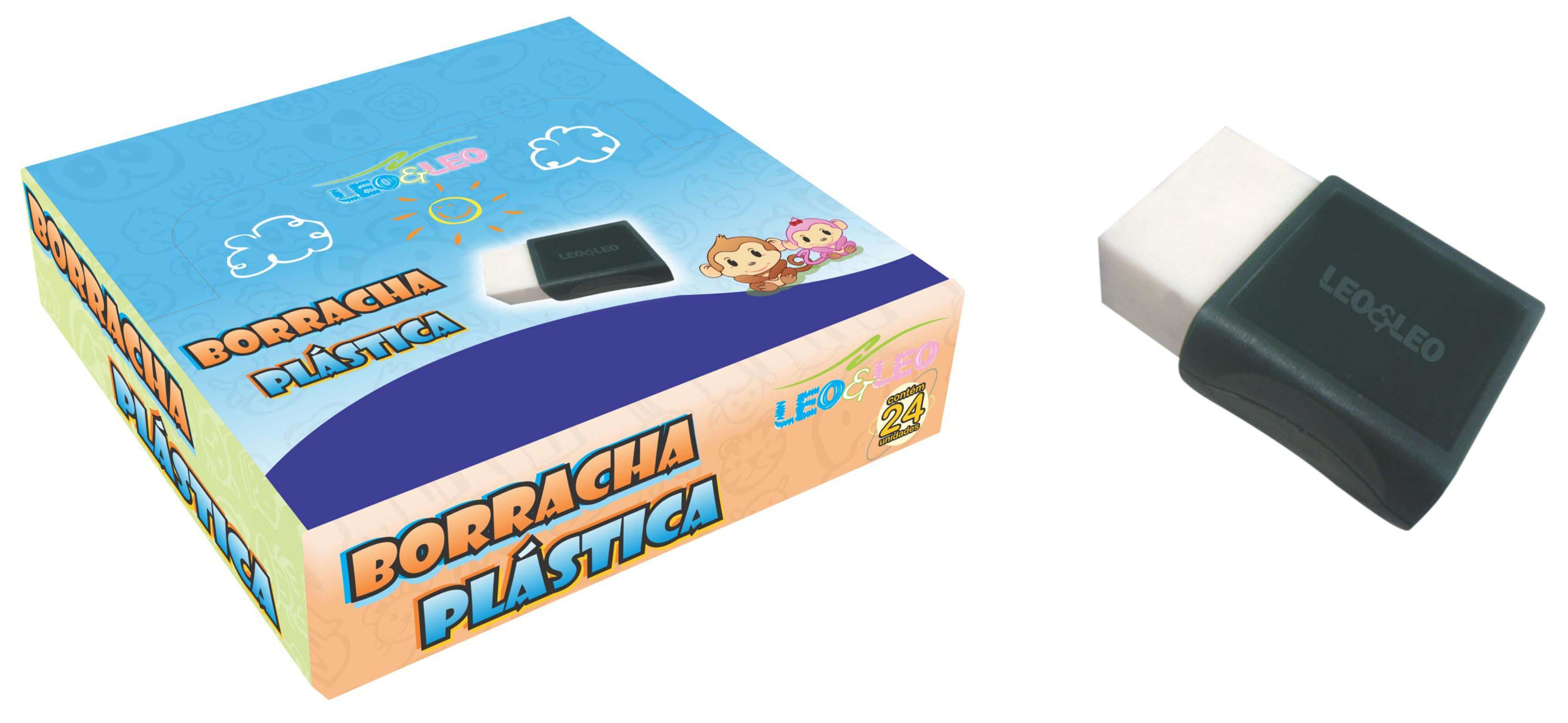 BORRACHA PLASTICA PEQUENA BRANCA 4584 JOCAR