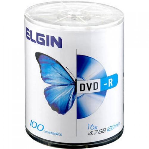 DVD-R 4.7GB 16X BULK 100UN ELGIN