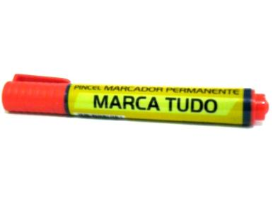 PINCEL MARCADOR PERMANENTE ATOMICO VERMELHO 9612V MARIPEL