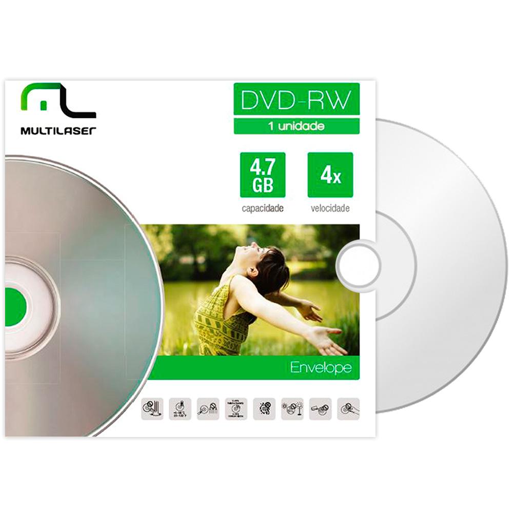 DVD-RW 4.7GB 4X ENVELOPE MULTILASER
