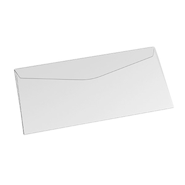 ENVELOPE OFICIO OFF SET BRANCO S/ RPC 75G 114X229MM 10UN COF040 SCRITY