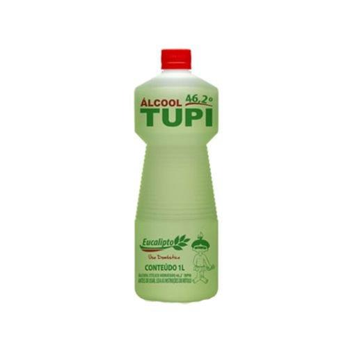 ALCOOL LIQUIDO 46º LIMPEZA GERAL EUCALIPTO 1LT TUPI