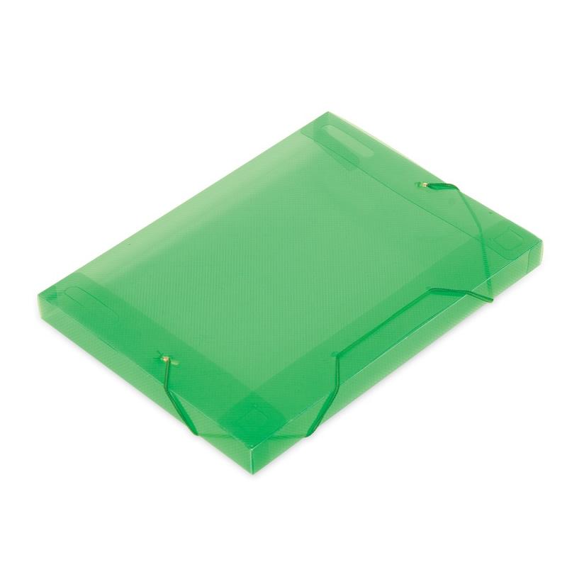 PASTA ABA/ELASTICO PLASTICA OF VERDE 20MM