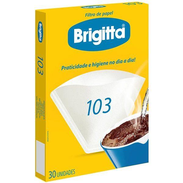 FILTRO DE PAPEL Nº103 30UN BRIGITTA