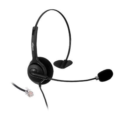 HEADSET PARA TELEFONE COM MICROFONE CONEXAO RJ9 HN20 UNIXTRON