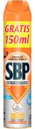 INSETICIDA AEROSSOL 450ML SBP