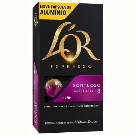 CAFE EM CAPSULA SONTUOSO 10UN LOR