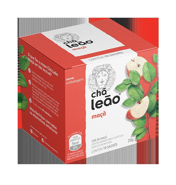 CHA MACA SACHE 2G 10 ENVELOPES LEAO