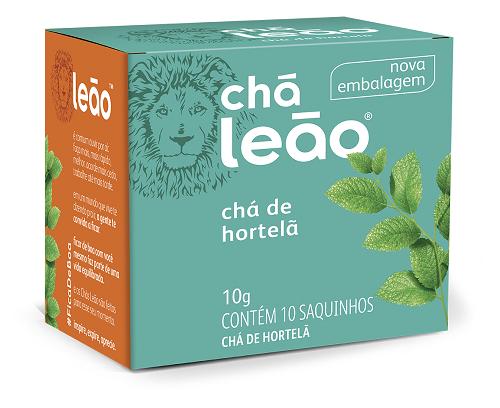 CHA DE HORTELA SACHE 1G 10UN LEAO