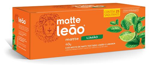 CHA MATE LIMAO SACHE 1,6G 25UN LEAO