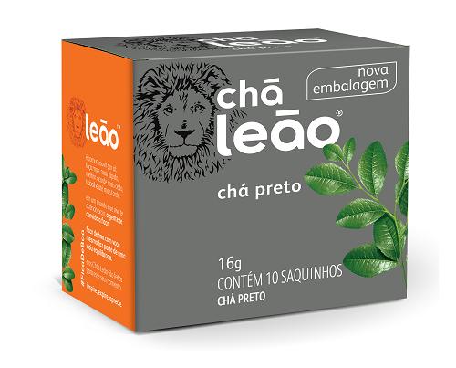 CHA PRETO SACHE 1,6G 10UN LEAO